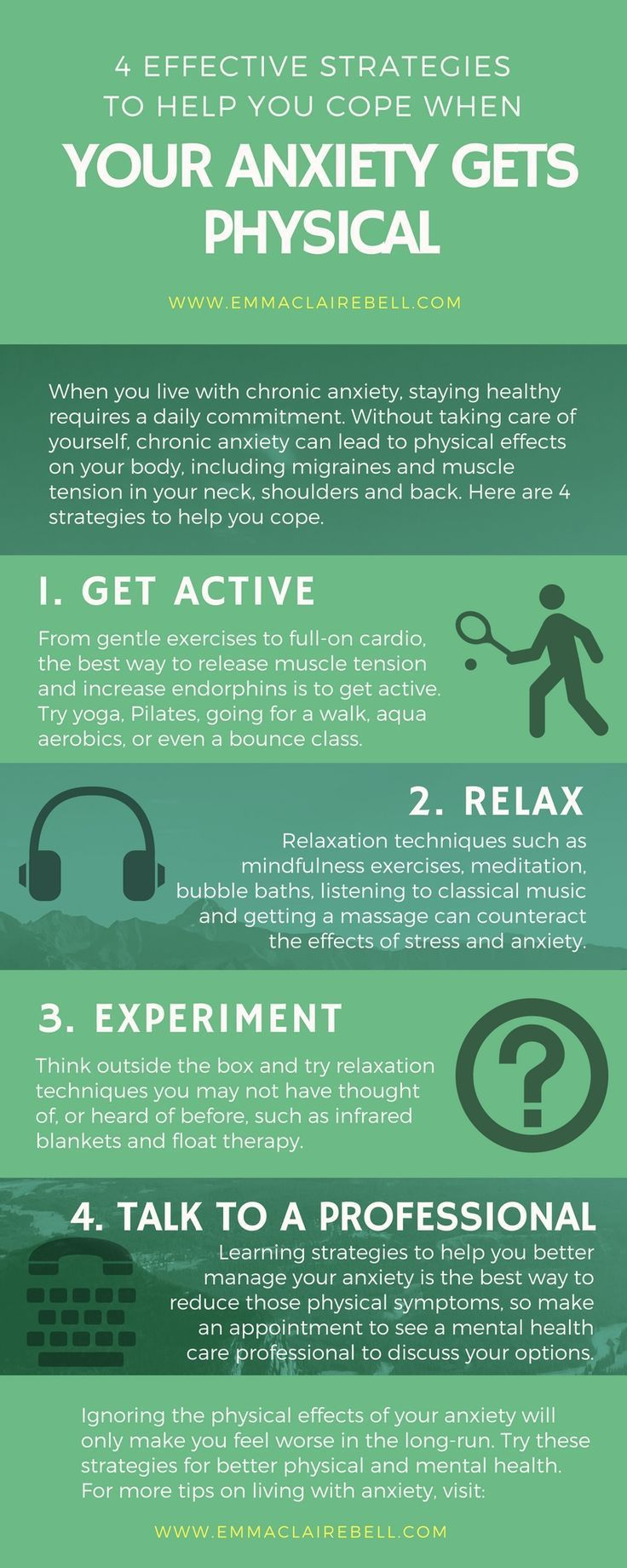 Between muscle tension, migraine and teeth grinding, anxiety can wreak havoc with our bodies. These are some of the strategies that have helped me manage the physical effects of my #anxiety.