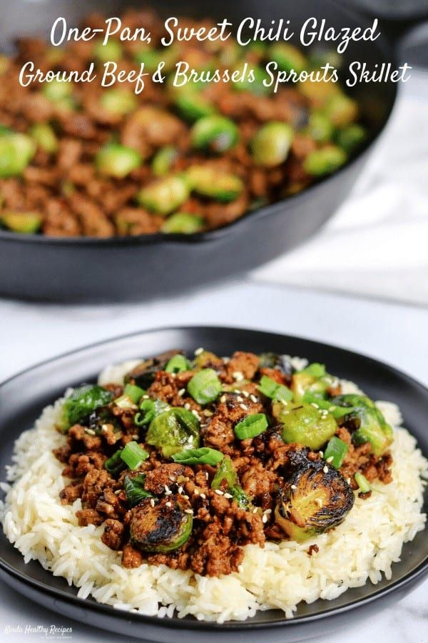 You Ll Never Believe A Recipe This Simple Can Pack Such A Serious Flavor Punch Pair This Sweet Chili Ground Beef Sweet Chili Sauce Recipe Healthy Ground Beef