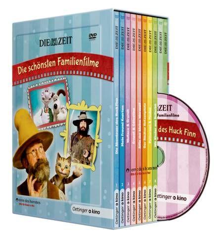 DVD-Box ZEIT-Edition: Die sch�nsten Familienfilme (10 DVD). F�r grosse & kleine Zuschauer ab 5 Jahren.
