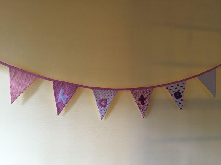 Handmade Personalised fabric Bunting
