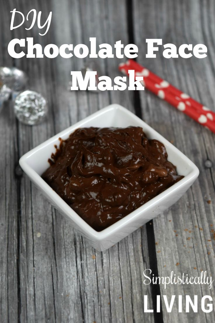 DIY Chocolate Face Mask- it's edible too!