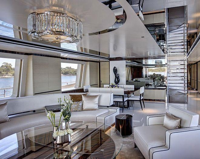 die besten 17 ideen zu yacht design auf pinterest | luxusjachten, Innenarchitektur ideen