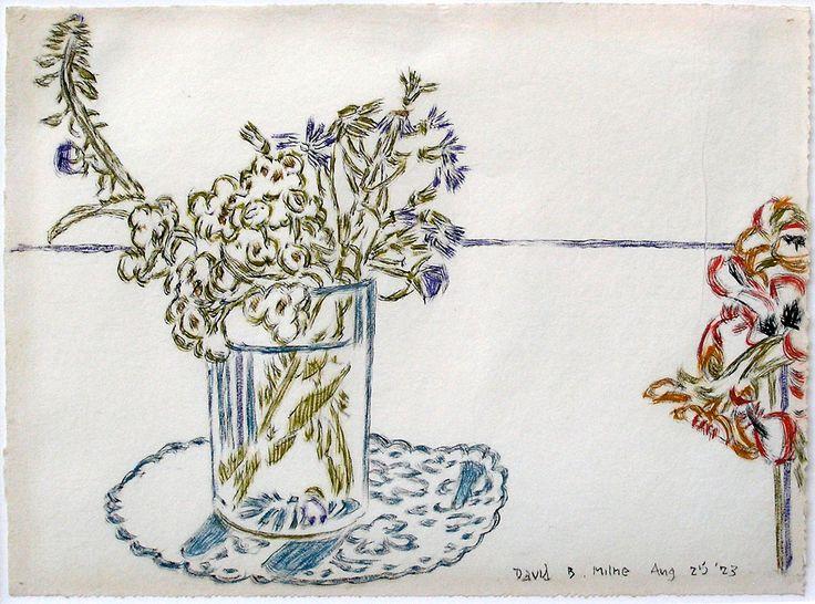 "'""Flowers"" Big Moose Lake, Adirondacks NY', 1923, watercolour by David Milne at Mayberry Fine Art"