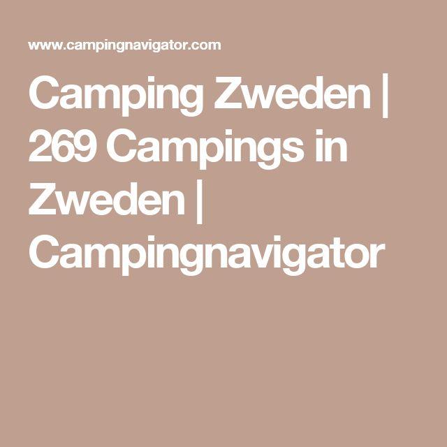 Camping Zweden | 269 Campings in Zweden | Campingnavigator