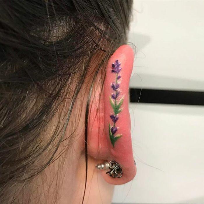 La tendencia de los tatuajes en el hélix está conquistando instagram, y tú también querrás uno cuando lo veas | Bored Panda