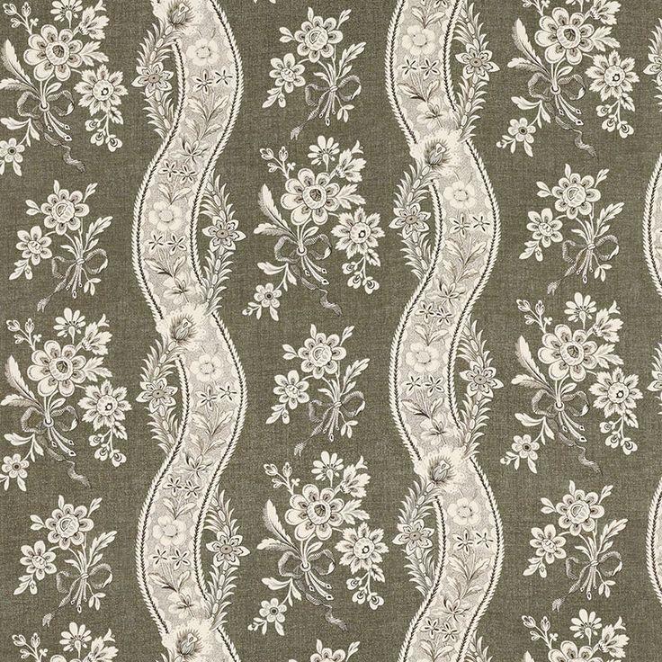 Le Castellet Brun Fabric by Schumacher Pattern 175983