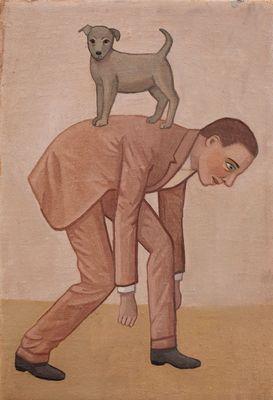 Man And Dog | Camilla Thorup