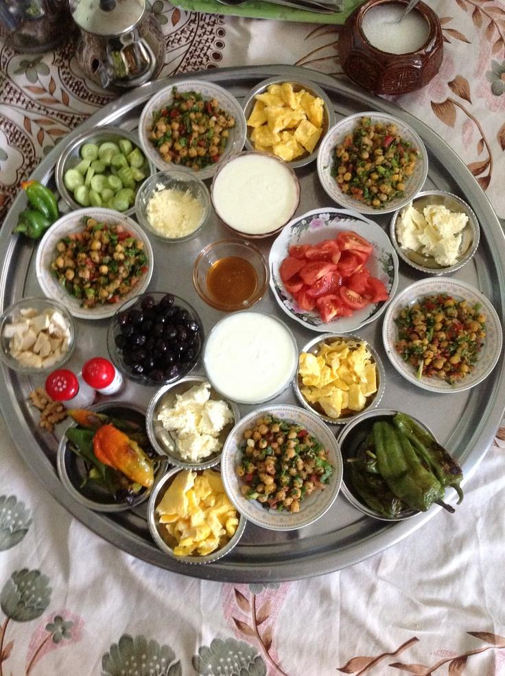 Kahvaltı - a Turkish breakfast