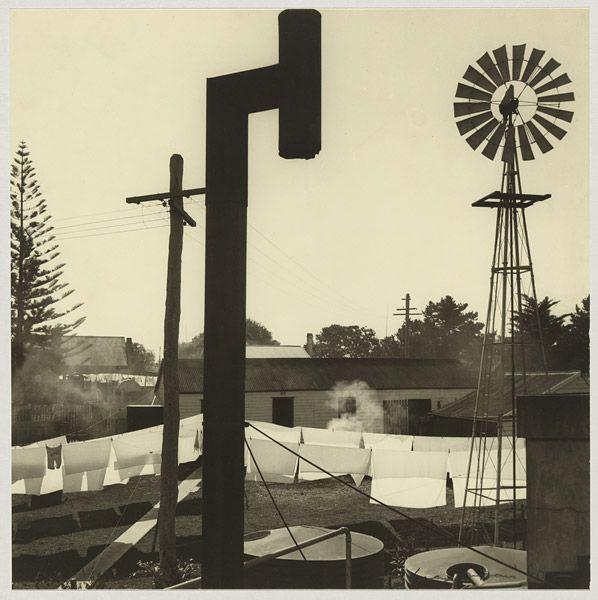 Max Dupain (Australian, 1911 - 1992): Backyard, Forster, New South Wales, Australia. 1940