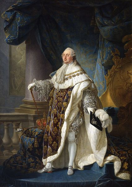 Louis XVI- King of France and Navarre from 1774 until 1791, after which he was subsequently King of the French from 1791 to 1792, before his deposition and execution during the French Revolution.