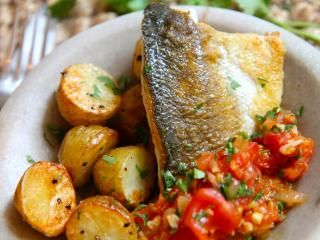 How to cook fish - and produce this dinner party-worthy pan fried sea bass recipe!