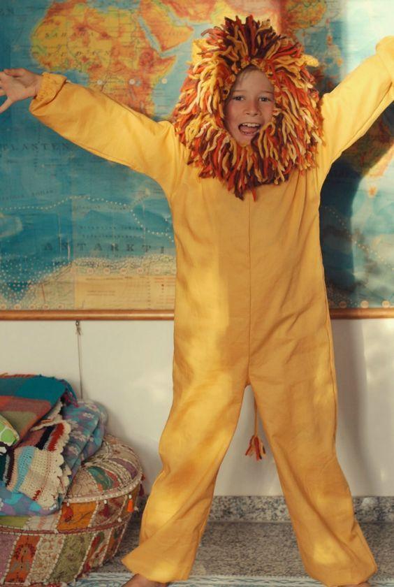 Great lion costume: