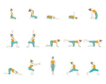 sports yoga  sup yoga sequence yoga poses on paddle