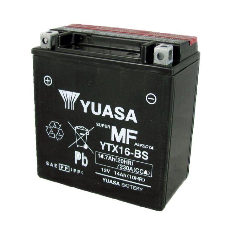 Μπαταρία ΜΟΤΟ YUASA YTX16-BS