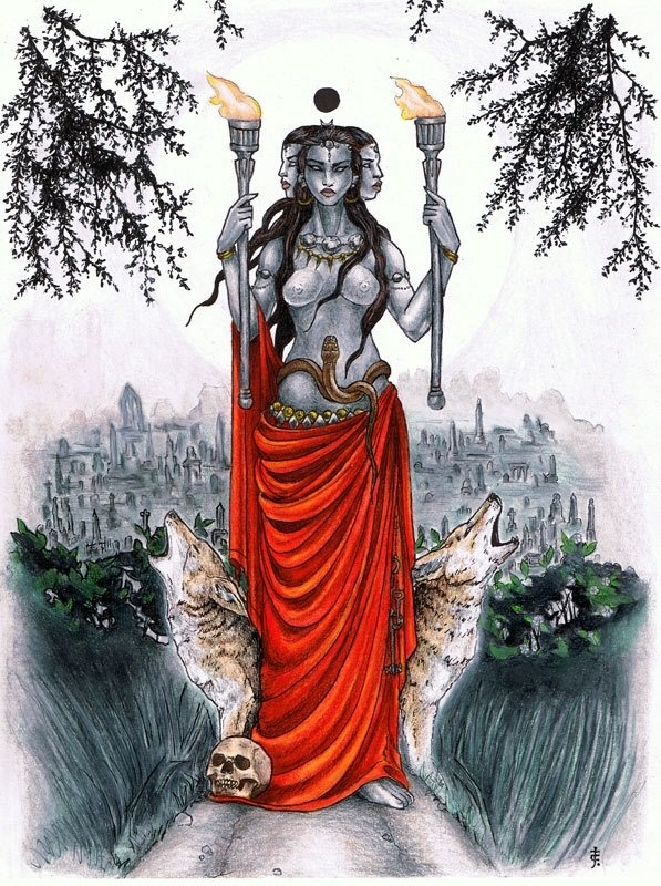 Image result for hekate kourotrophos