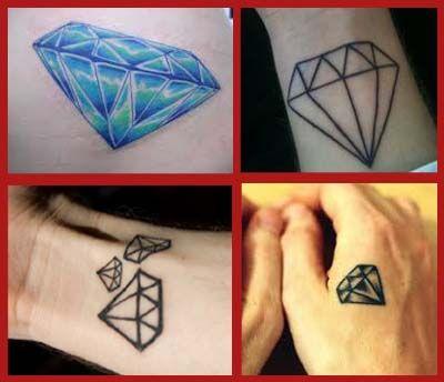 20 best gemstone tatts images on pinterest diamond tattoo designs diamond tattoos and tattoo. Black Bedroom Furniture Sets. Home Design Ideas