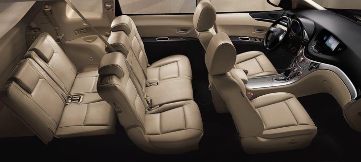 Subaru Tribeca interior, 7 seater......mine is a 5 seater