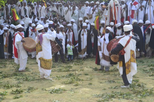 Easter in Lalibela, Ethiopia.