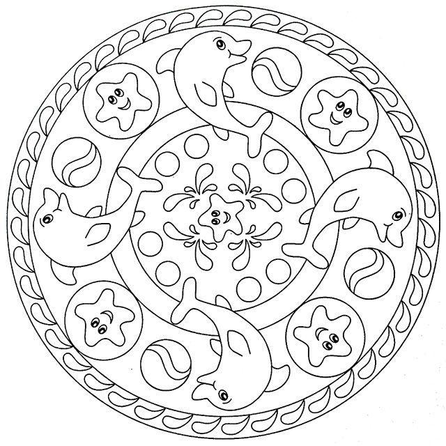 Mandala Coloring Page Blank - Bing Images
