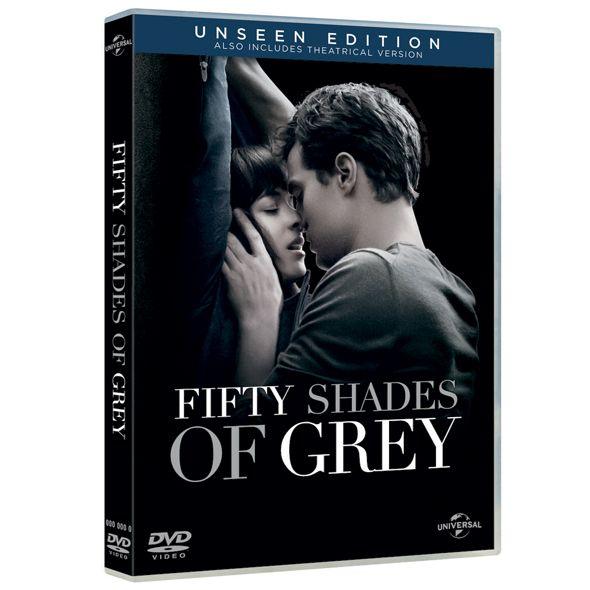 Film DVD 50 Twarzy Greya wydłużona wersja z zakończeniem alternatywnym ABSOLUTNY HIT