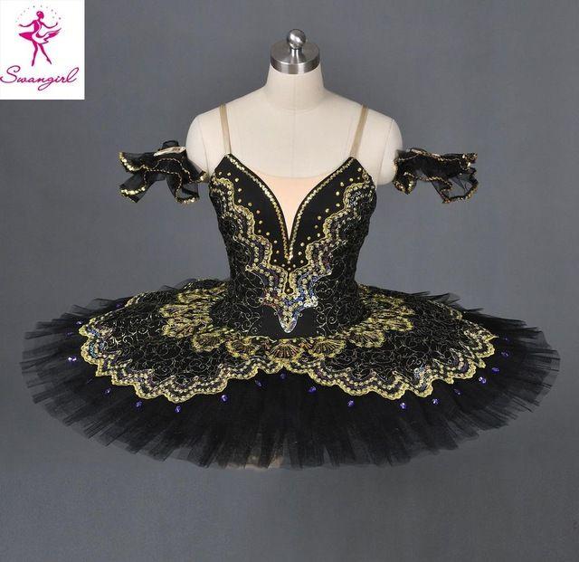 Adulto cisne negro ballet clássico tutu traje do bailado para a venda, vermelho ballet profissional tutu, tutus de balé para o desempenho preto