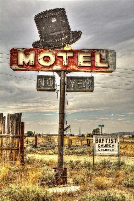 'Coat's Motel, Jeffrey City, Wyoming.