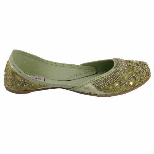 Amazon.com: Beaded Shoes Indian Moccasins For Women Embroidered Handmade Size: 9.5: Shoes