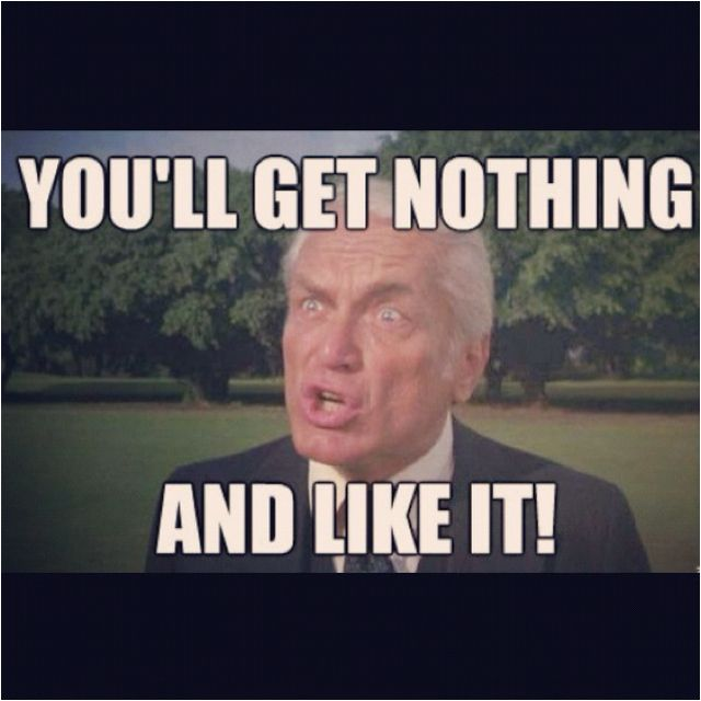 Ted Knight from Caddy shack.