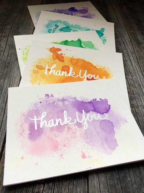 Card Sentiment Thank You Inside Of Card Blank Card Base 110 Lb