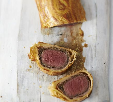 Serve up a game version of the classic dinner party puff pastry parcel with mushroom duxelles, prosciutto and mustard