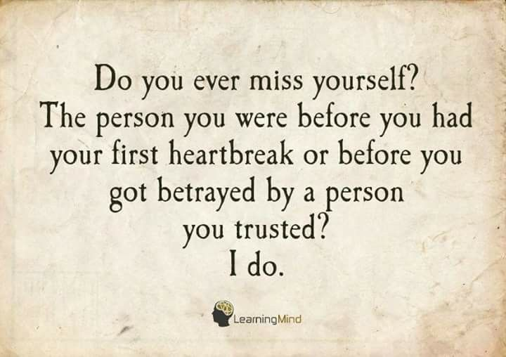 Damn This Heartbreak too...  My First and My Last