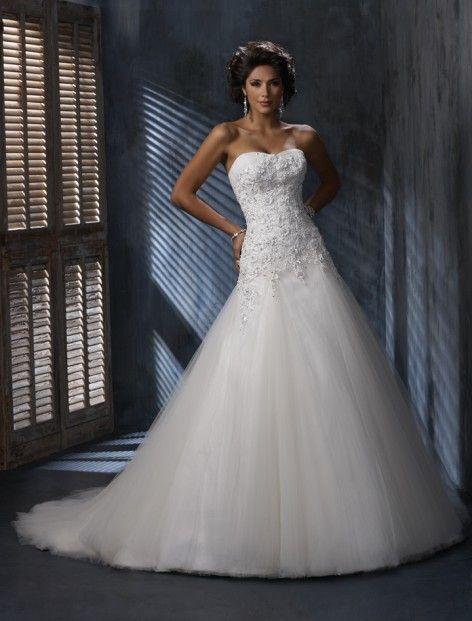 134 besten Classic Wedding Dresses Bilder auf Pinterest   1950 stil ...