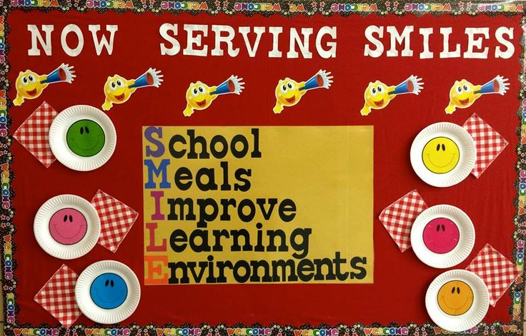 Wasatch Elementary CNP Manager borrowing some wisdom from Dayle Hayes for Wasatch Elementary School's opening bulletin board in the lunchroom! I love it! SMILE!
