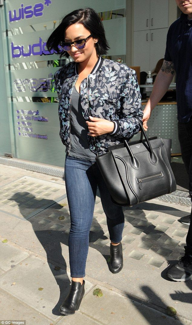 Cool For The Summer! Demi Lovato made sure her casual ensemble still remained stylish as s...