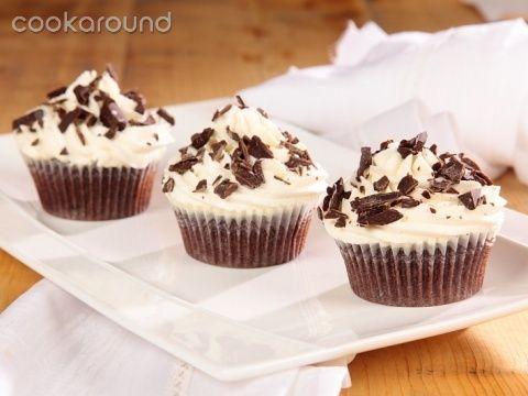 Che fame!!! :) Cupcakes alle gocce di cioccolato e mascarpone Ricette Dolci Cookaround