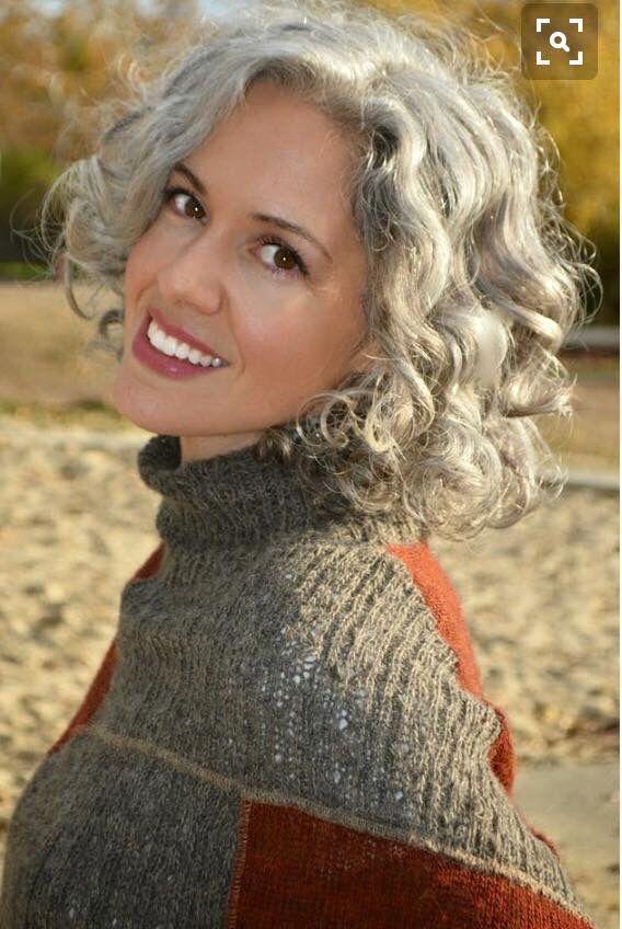130 best Grey hair images on Pinterest   Grey hair, Going
