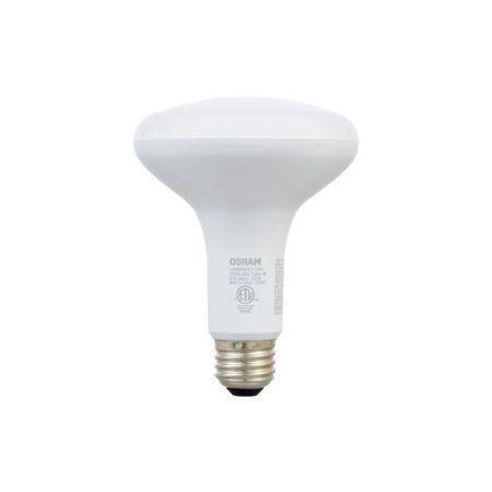 Sylvania LED 65W BR30 Non-Dimmable Light Bulbs, 2pk, White