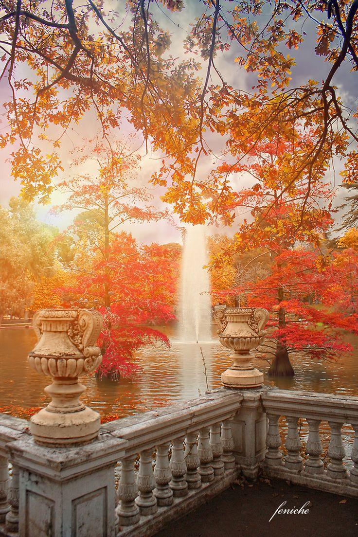 Madrid in Autumn, Spain