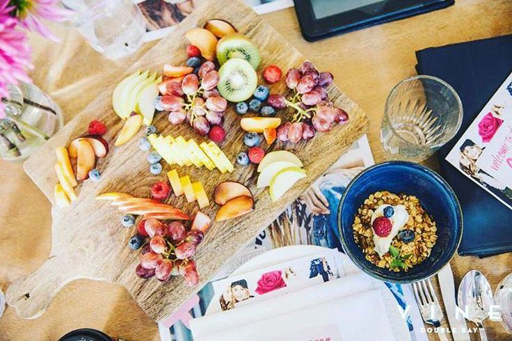 Summer brights ☀️☀️ #vinedoublebay #vine #doublebay #restaurant #sydney #summer #food #colourful #foodstyling