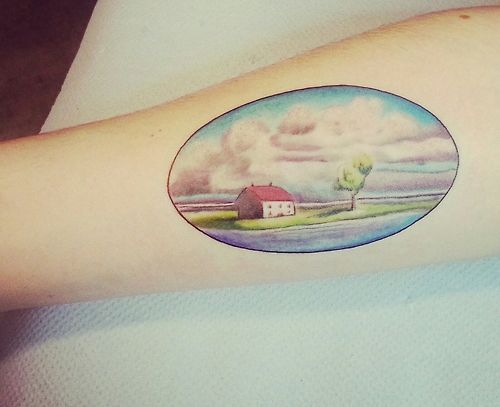 This is my second Ghibli tattoo and I'm so proud. This...