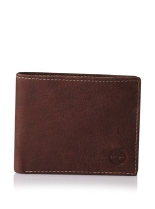 Timberland Men's Fine Break Leather Passcase