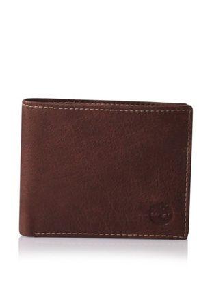 Timberland Men's Fine Break Leather Passcase