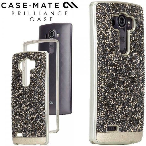 Case-Mate Brilliance Case for LG G4 - Champagne Gold