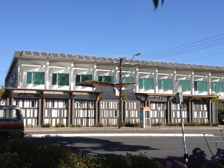 Solar PV applied as a shade protection as well. Camila Bigolin