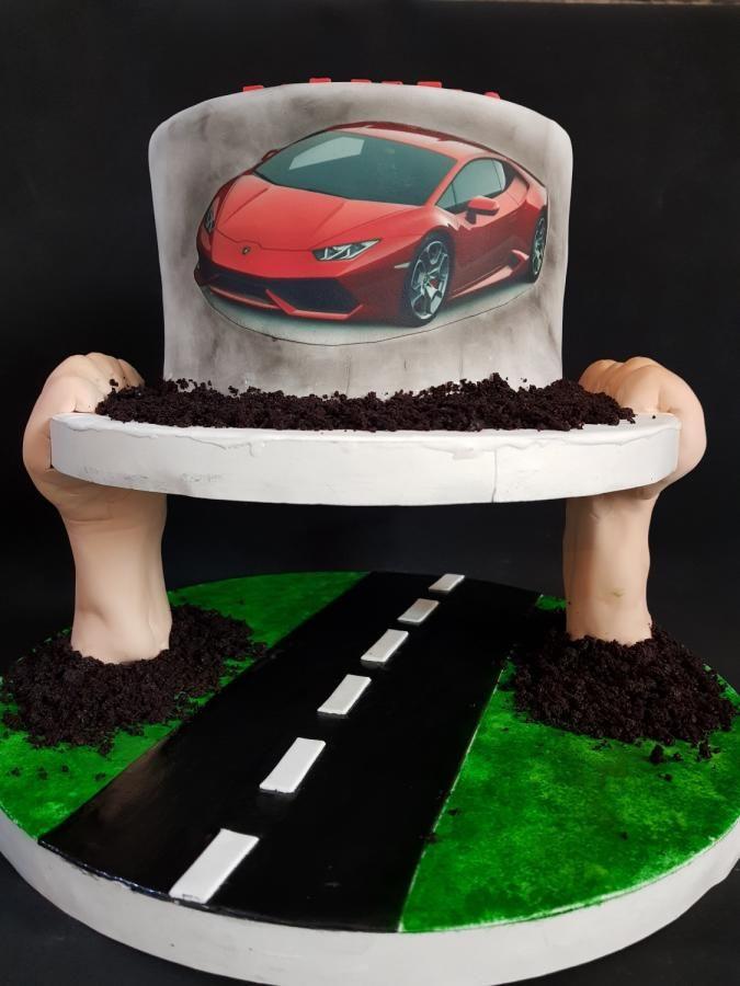 Car Cake Car Cakes In 2018 Cake Cake Decorating Gravity