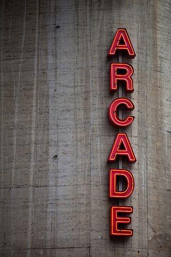 ARCADE by Brian Wolfe