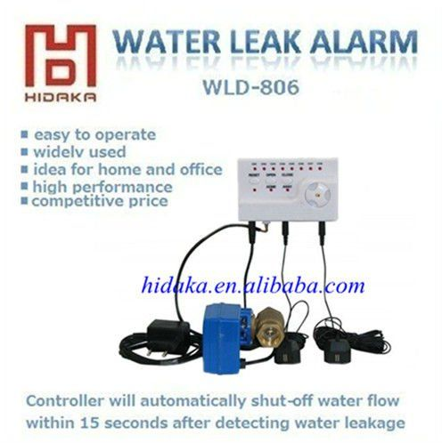 Portable Water Alert System with 8pcs high sensitity sensor wireless alarm system
