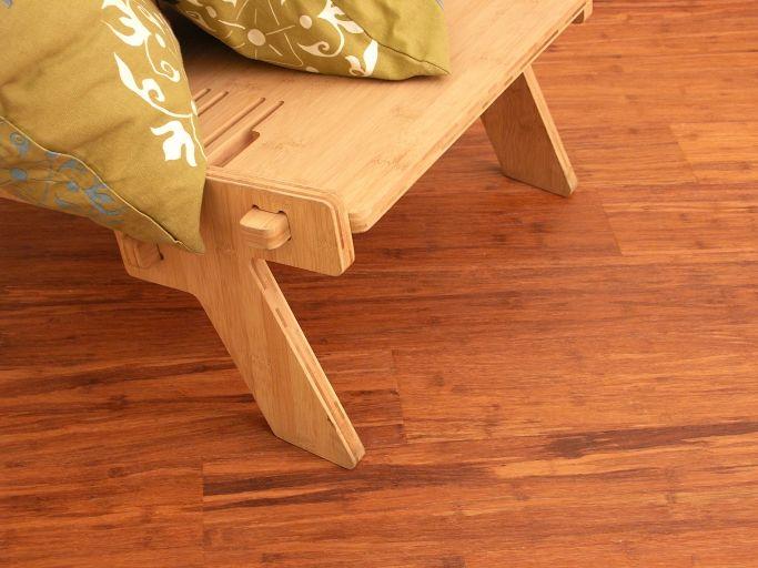 Parquet Bamboo Caramel Density Laccato.   #pavimenti in #parquet #bamboo #flooring #legno #interiors