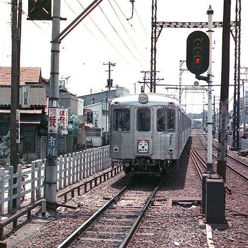 1960年天然色写真・東京の電車