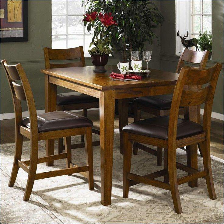 Klaussner urban craftsmen rectangular counter height table ahfa pub table dealer locator - Tucker dining room set ...
